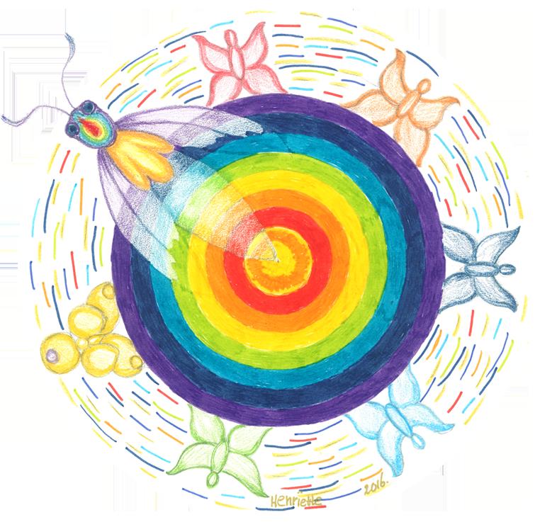 Wervelende Regenboog